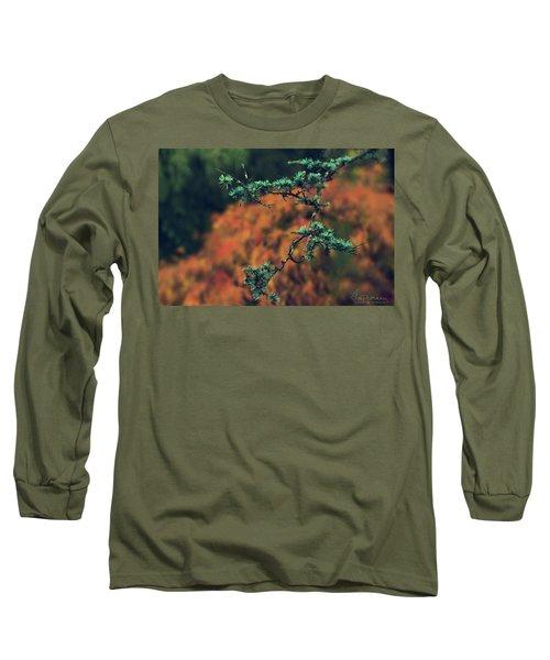Prickly Green Long Sleeve T-Shirt