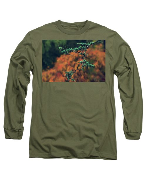 Prickly Green Long Sleeve T-Shirt