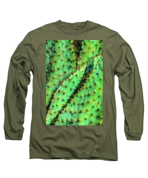 Long Sleeve T-Shirt featuring the photograph Prickly by Paul Wear