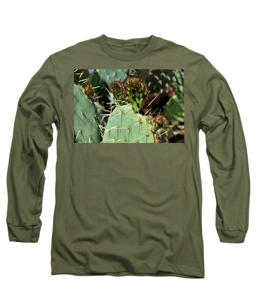 Prickly Pear Buds Long Sleeve T-Shirt