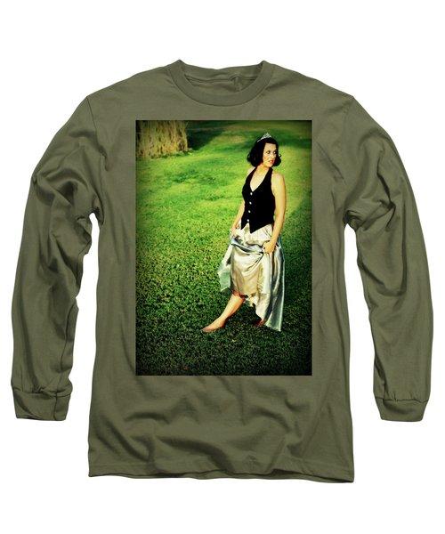 Princess Along The Grass Long Sleeve T-Shirt