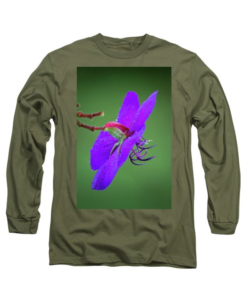 Long Sleeve T-Shirt featuring the photograph Princess Flower, Nuwara Eliya, 2012 by Hitendra SINKAR