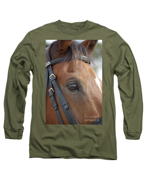 Long Sleeve T-Shirt featuring the photograph Prinz by Jim and Emily Bush