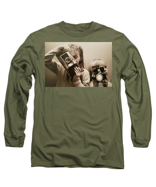 Professional Photographers Long Sleeve T-Shirt by Scott D Van Osdol