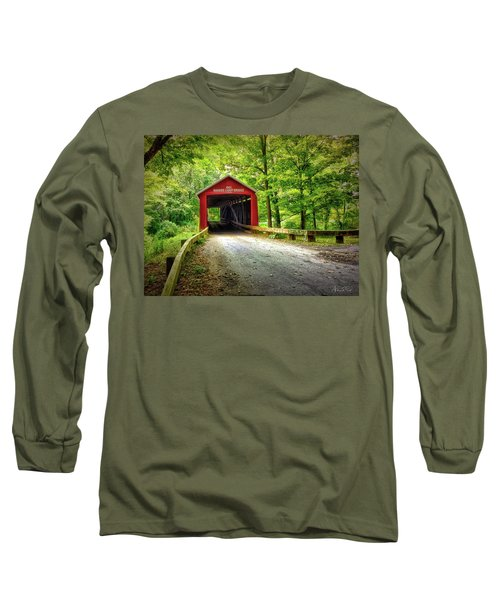 Protected Crossing In Summer Long Sleeve T-Shirt