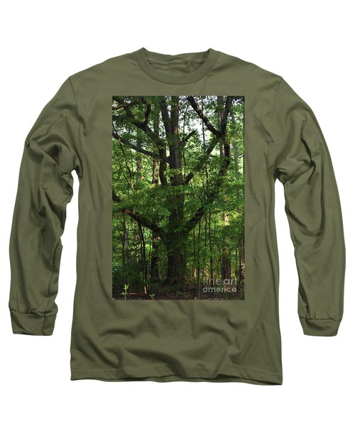Long Sleeve T-Shirt featuring the photograph Protecting The Children by Skip Willits