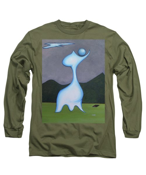 Protector Long Sleeve T-Shirt by Robert Henne