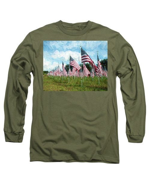 Proud And Free Long Sleeve T-Shirt
