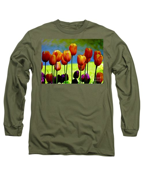 Proud Tulips Long Sleeve T-Shirt