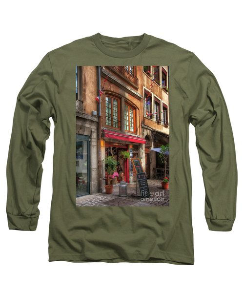 French Cafe Long Sleeve T-Shirt