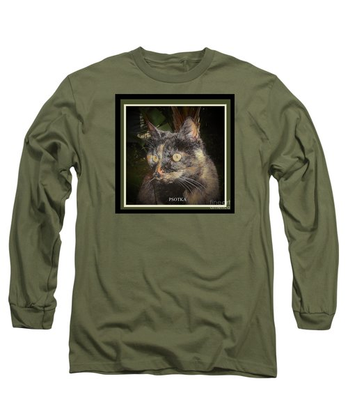 Long Sleeve T-Shirt featuring the photograph Psotka by Andrew Drozdowicz