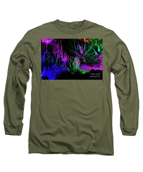 Psychedelia Long Sleeve T-Shirt by Kathy McClure