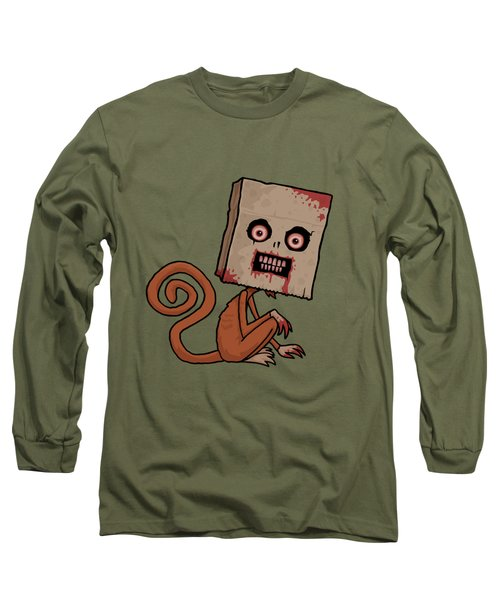 Psycho Sack Monkey Long Sleeve T-Shirt