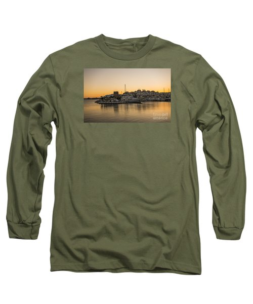 Puerto Banus In Marbella At Sunset. Long Sleeve T-Shirt