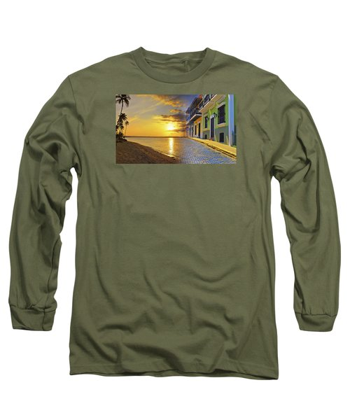 Puerto Rico Montage 1 Long Sleeve T-Shirt by Stephen Anderson