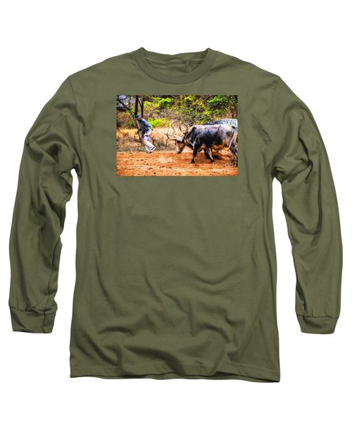 Pulling The Beasts Long Sleeve T-Shirt