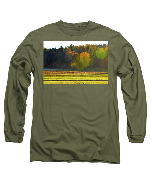 Pumpkin Sunset Long Sleeve T-Shirt