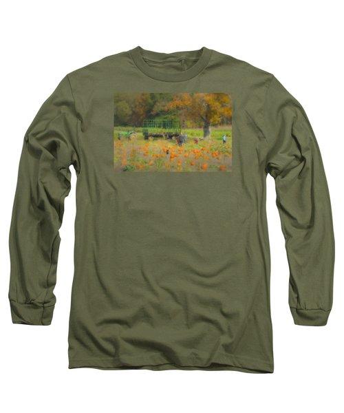 Pumpkins At Langwater Farm Long Sleeve T-Shirt