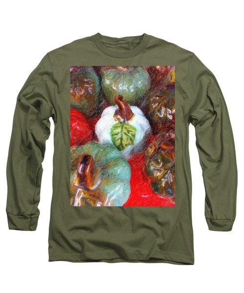 Pumpkins, Pumpkins...everywhere Long Sleeve T-Shirt