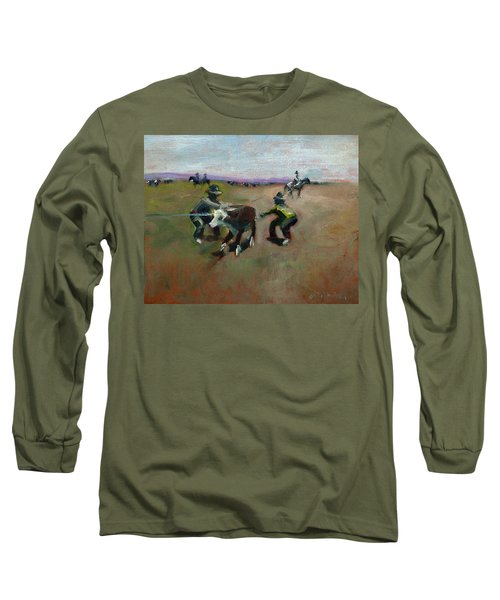 Punchin Doggies Long Sleeve T-Shirt