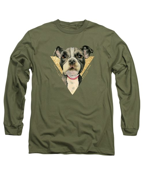Puppy Eyes 3 Long Sleeve T-Shirt