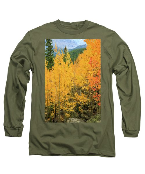 Long Sleeve T-Shirt featuring the photograph Pure Gold by David Chandler