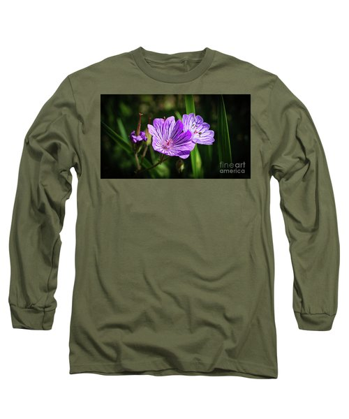 Purple Attraction Long Sleeve T-Shirt