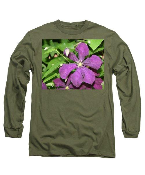 Purple Delite Long Sleeve T-Shirt