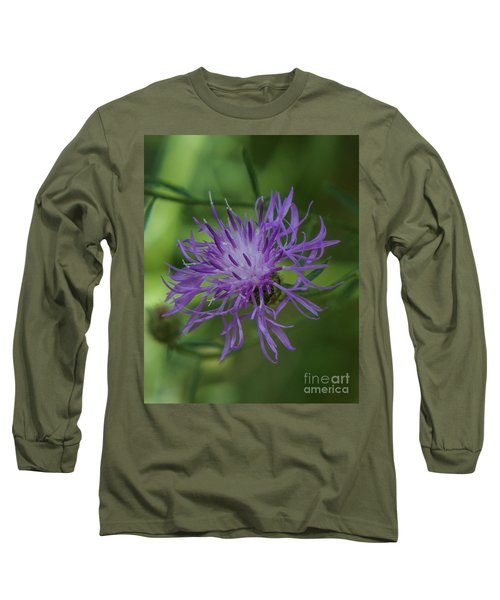 Purple Flower 8 Long Sleeve T-Shirt