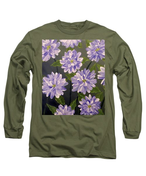 Purple Passion Long Sleeve T-Shirt by Teresa Wing