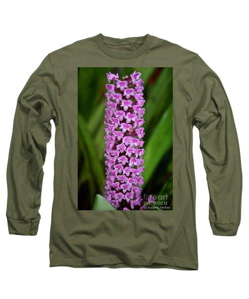 Purple Pillar Long Sleeve T-Shirt