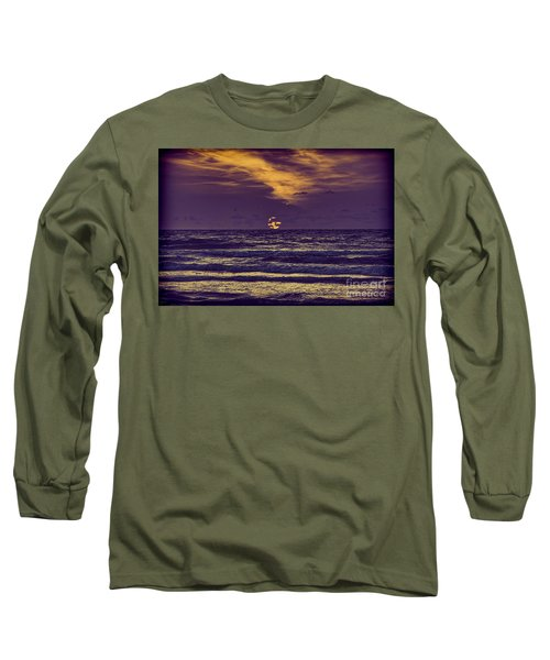 Purple Sunrise Long Sleeve T-Shirt
