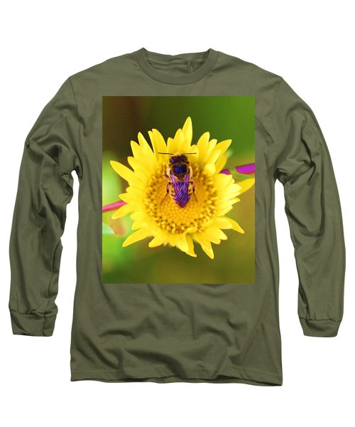 Long Sleeve T-Shirt featuring the photograph Purple Wings by John King