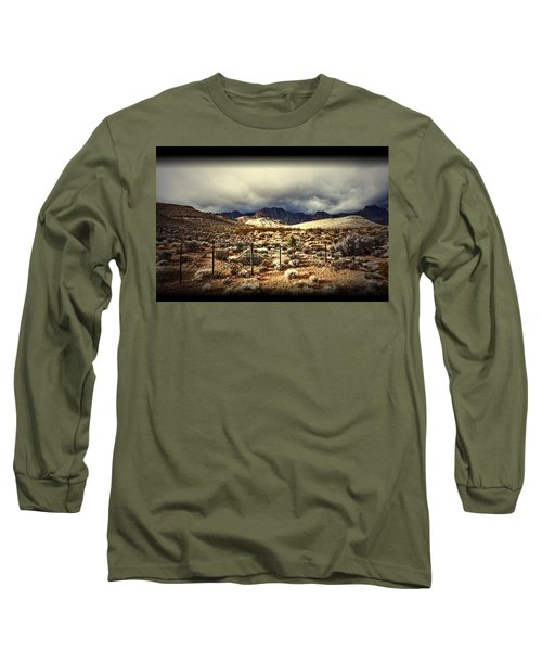 Long Sleeve T-Shirt featuring the photograph Push by Mark Ross