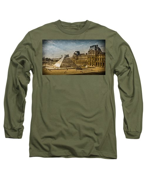 Paris, France - Pyramide Long Sleeve T-Shirt