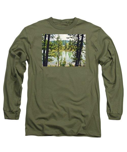 Quaint Long Sleeve T-Shirt by Janie Johnson