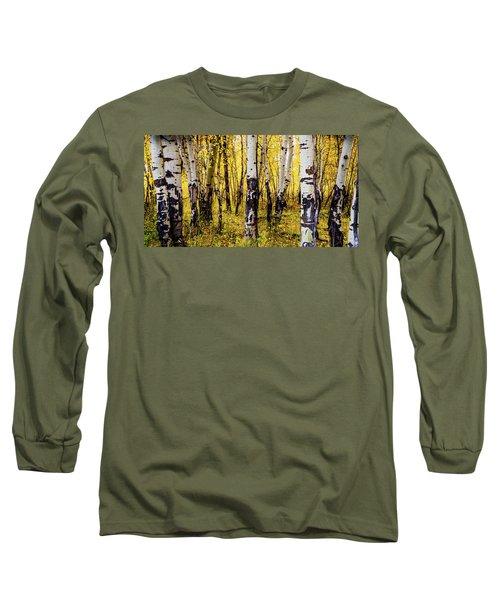 Quakies In Autumn Long Sleeve T-Shirt