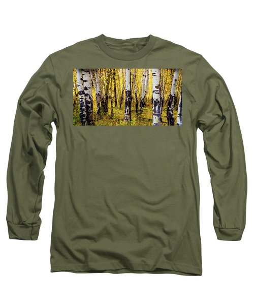 Quakies In Autumn Long Sleeve T-Shirt