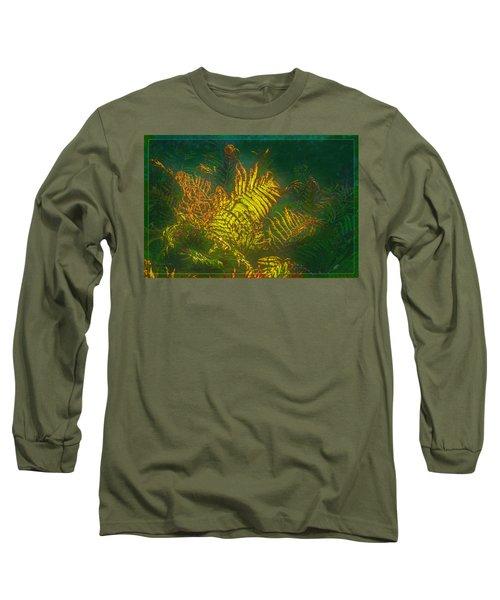 Quantum Fern.... Long Sleeve T-Shirt