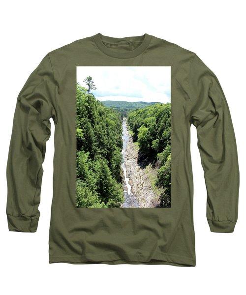 Quechee Gorge Long Sleeve T-Shirt