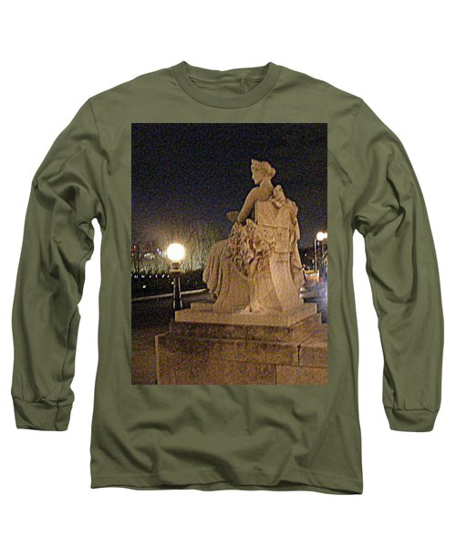 Long Sleeve T-Shirt featuring the photograph Queen Of Art Hill by Nancy Kane Chapman