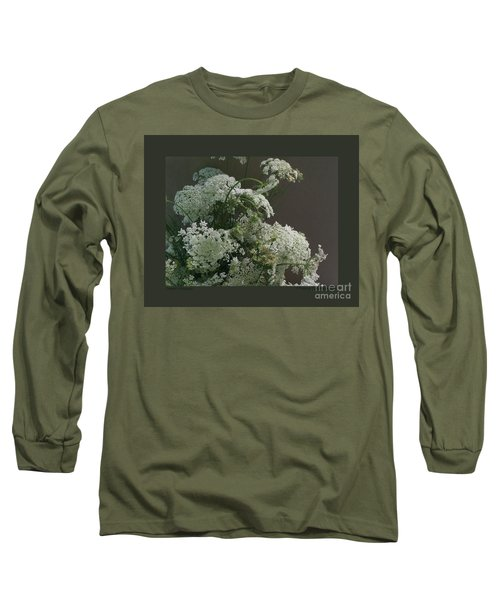 Queen's Bouquet Long Sleeve T-Shirt by Patricia Overmoyer