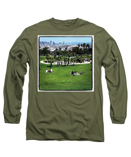 Long Sleeve T-Shirt featuring the photograph Quiet At #doloresgaybeach by Mr Photojimsf