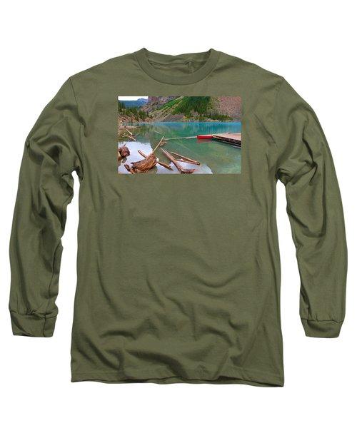 Moraine Lake I, Alberta Long Sleeve T-Shirt