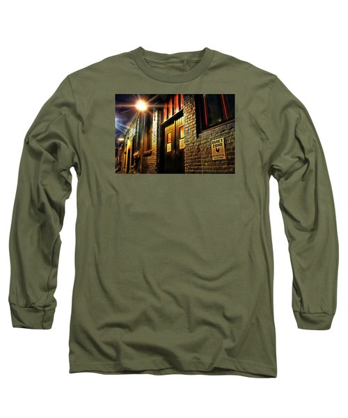 Long Sleeve T-Shirt featuring the photograph Quiet Zone by Jessica Brawley