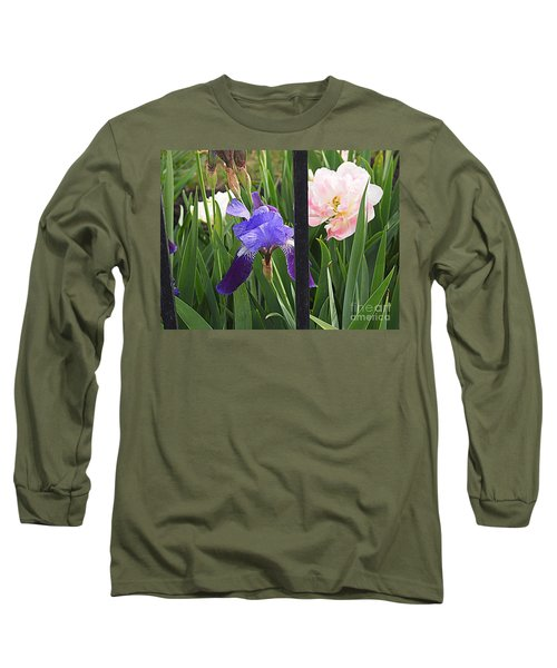 Long Sleeve T-Shirt featuring the photograph Quite The Pair by Nancy Kane Chapman