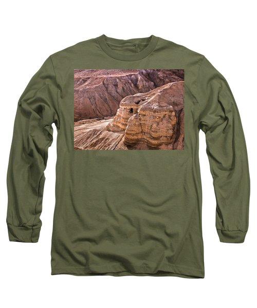 Qumran Cave 4, Israel Long Sleeve T-Shirt