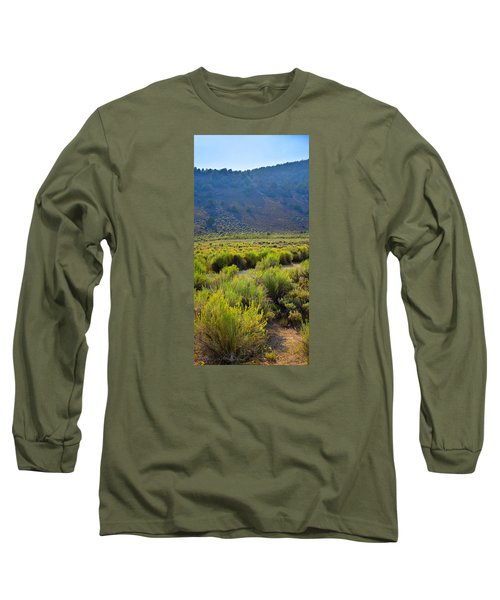 Rabbit Brush In Bloom Long Sleeve T-Shirt