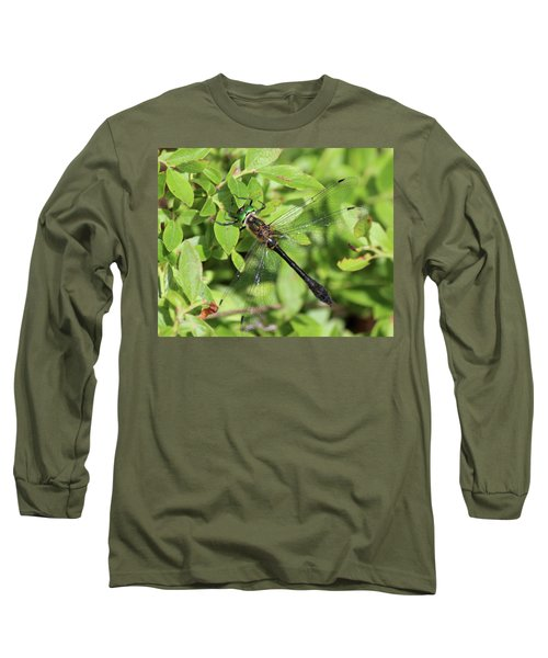 Racket-tailed Emerald  Long Sleeve T-Shirt