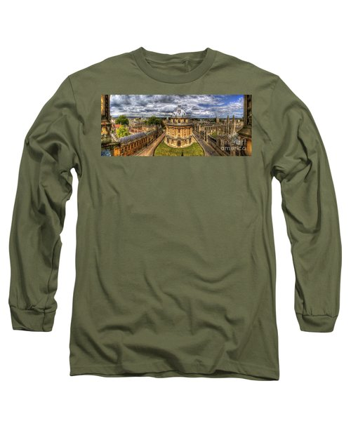 Radcliffe Camera Panorama Long Sleeve T-Shirt